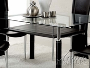 ACME 14045 DINING TABLE W/SMOKY 14046GL & 14047ST