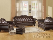 Acme 15030 Anondale Leather Sofa Set