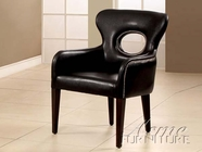 ACME 15054 BLACK PU ACCENT CHAIR