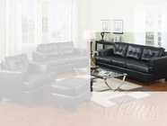 ACME 15090 BLACK BONDED LEATHER SOFA