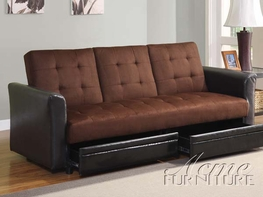 ACME 15290 Kay ADJUSTABLE SOFA W/STORAGE