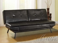 ACME 15350 BLACK PU ADJUSTABLE SOFA