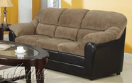 ACME 15945K BROWN CORDUROY/ESP. PU SOFA