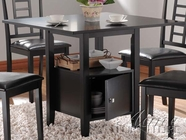 ACME 19000 BK STORAGE DINING TABLE-W1P1
