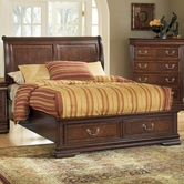 ACME 19447CK/EK CAL KING STORAGE BED, HB/FB/R -W/P2(SHARING THE SAME HB AS 19446CK-HB)
