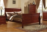 ACME 19520Q CHERRY L.P QUEEN BED, HF/R