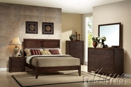ACME 19570Q-74-75 Madison Espresso Finish Queen Size Bedroom Set