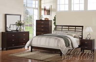 ACME 20090Q-94-95 Preston Espresso Finish Queen Size Bedroom Set