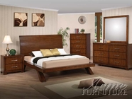ACME 20230Q-34-35 Galleries 5 PC Bedroom Set in Brown Cherry