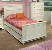 ACME 30000F WHITE FULL BED HB/FB/R