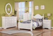 ACME 30125T-30130-30131 CLASSIQUE JR. WHITE YOUTH BEDROOM SET