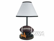 Acme 3872 Football Table Lamp Set