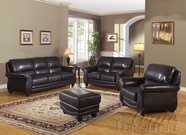 ACME 50105-06-07 Maloney Espresso Bonded Leather Match Sofa Set