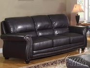 ACME 50105 BONDED LEATHER MATCH SOFA
