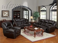 ACME 50285-86-87 Ralph Brown Bonded Leather Sofa Set