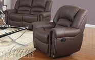 ACME 50287 BONDED LEATHER RECLINER-W/P2