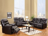 ACME 50925-26 Arcadia Cracked Brown Bonded Leather Sofa Set