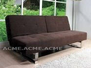 ACME 57002 DARK BROWN ADJUSTABLE SOFA