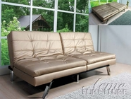 ACME 57004 CHAMPAGNE PU ADJUSTABLE SOFA