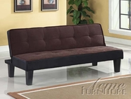 ACME 57028 CHOCOLATE ADJUSTABLE SOFA