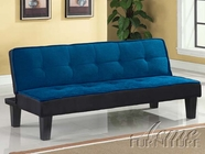 ACME 57031 BLUE ADJUSTABLE SOFA