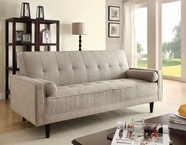 ACME 57071 LINEN ADJUSTABLE SOFA W/2 PILLOWS