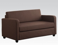 ACME 57085 CHOCOLATE SOFA BED
