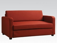 ACME 57086 RED SOFA BED