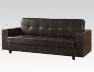 ACME 57089 BROWN PVC ADJ SOFA