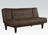 ACME 57090 BROWN PU ADJ SOFA