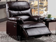 Acme 59011 Brown Pu Recliner