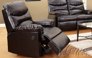 ACME 59017 ESPRESSO BONDED LEATHER RECLINER