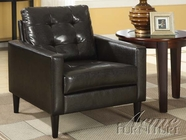 ACME 59046 ESPRESSO PU ACCENT CHAIR