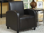 ACME 59052 BLACK PU ACCENT CHAIR