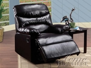ACME 59067 ESPRESSO BONDED LEATHER RECLINER W/GLIDER-W/P1