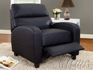 ACME 59089 BLACK PU RECLINER