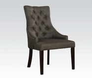 ACME 59196 GRAY ACCENT CHAIR