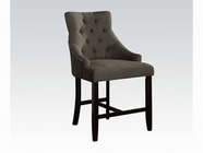 ACME 59197 GRAY ACCENT COUNTER H. CHAIR
