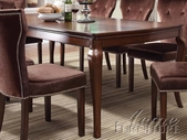 Acme 60020 Brown Cherry Dining Table