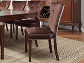 ACME 60024 BROWN CHERRY SIDE CHAIR