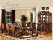 ACME 60030-4X33 Remington Brown Cherry Finish Dining Table Set