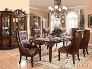 ACME 60075-4X77 Winfred Cherry Finish Dining Table Set