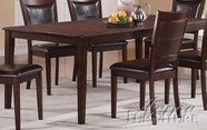 "ACME 60085 DINING TABLE W/18"" LEAF"