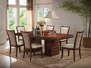 ACME 70020-4X22 Pacifica Cherry Finish Dining Table Set