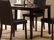 ACME 70045 DARK WENGE DINING TABLE