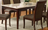 ACME 70060 WH MARBLE DINING TABLE
