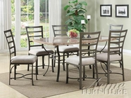 ACME 70094 Wal Dining Set