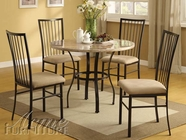 "ACME 70295 36"" DIA 5PC PACK DINING SET"