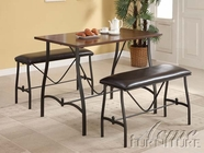 ACME 70347 ESP. 3PC PK COUNTER H. DINING SET