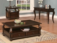 ACME 80010-2X12 Amado Espresso Finish Coffee/End Table Set
